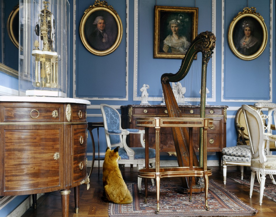 The Blue Salon Louis XVI 2